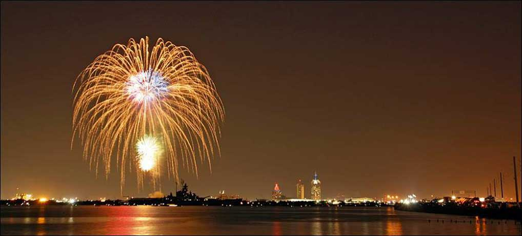 2015 New Years Eve Fireworks Cruise (Port of Mobile)